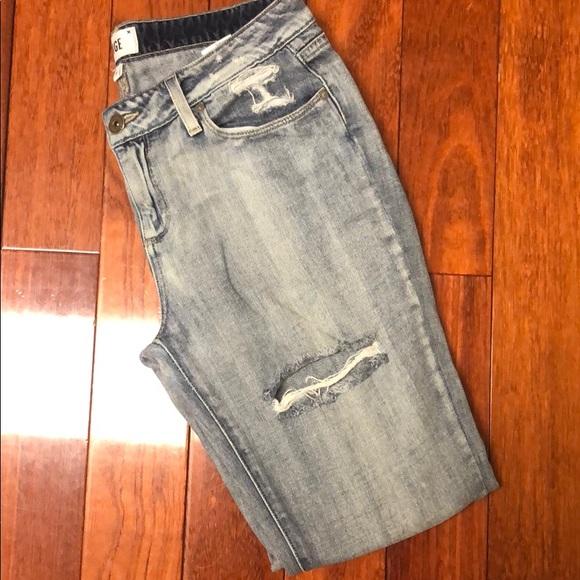 PAIGE Denim - PAIGE Light Wash Blue Jeans